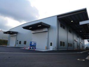 大型工場の完成